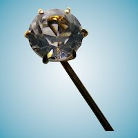 14 Karat Stickpin With Paste