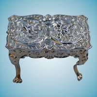 Doll House English Sterling Table