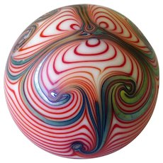 Smeyers Glass Paperweight 1977