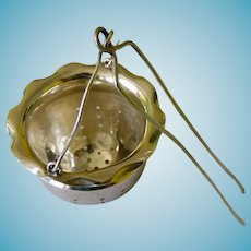 Sterling Tea Strainer Basket