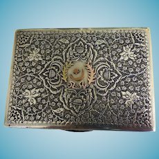 960 Silver Box  Gift From Government of India New Delhi