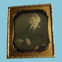 Daguerreotype of Woman Cased 1/6 Plate