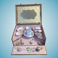 Antique French Toilette Set For French Fashion Doll