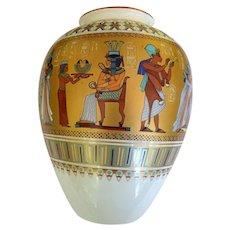 Kaiser W. Germany King Tut Vase