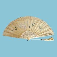 Early 19th Century Folding Fan