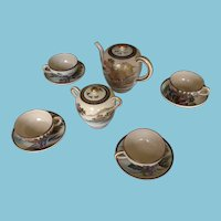 12 Piece Satsuma Tea Set