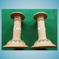 Wonderful Pair of Royal Doulton Candlesticks