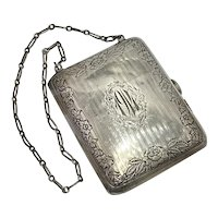 Luxury Sterling Silver Wristlet by Webster circa 1914