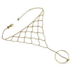 Vintage Harem Bracelet & Ring 10K Gold