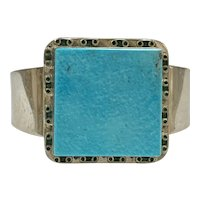 South-West Statement Bracelet Sterling Silver & Turquoise