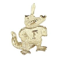 Florida Gators Pendant 14k Yellow Gold