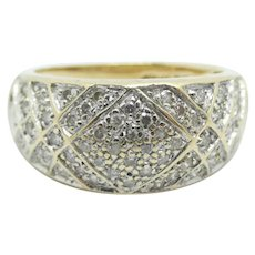 .275 ctw Diamond Band Ring 14k Yellow Gold