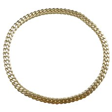"HEAVY 249.28 Gram Miami Cuban / Curb Link Necklace 23 1/2"" 14k Yellow Gold"