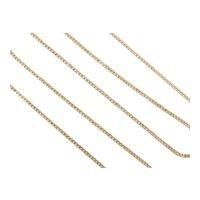 "Thin Curb Link Chain 14k Gold 15 3/4"" Length, 1.5 Grams"