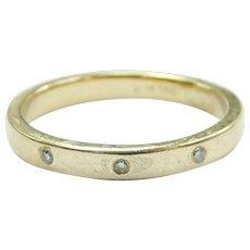 Diamond .03 ctw Band Ring 10k Gold