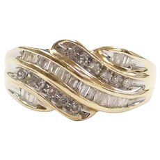 .57 ctw Diamond Ring 10k Gold Two-Tone