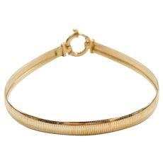 """7 1/4"""" 14k Gold Bracelet"""