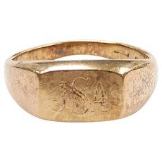 Signet Ring 18k Gold