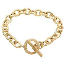 """8"""" 14k Gold Link Bracelet"""