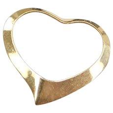 14k Gold Little Heart Pendant / Charm