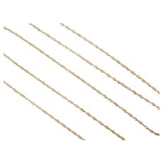"20"" 10k Gold Singapore Chain ~ 1.3 Grams"