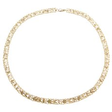 "17"" 10k Gold Necklace"