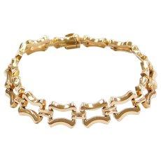 """7 5/8"""" 18k Gold Bracelet"""