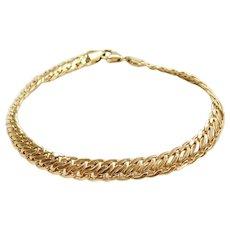 """8"""" 18k Gold Link Bracelet"""
