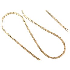 "18"" 14k Gold Link Chain ~ 14.0 Grams"