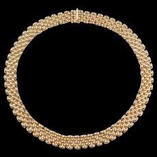 """Vintage 14k Gold Necklace ~ 17"""" ~  32.5 Grams"""