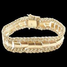 """Vintage 18k Gold Bracelet ~ 7 1/2"""""""