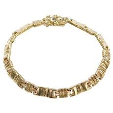 """7 3/8"""" 14k Gold Bracelet"""