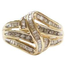 .61 ctw Diamond Ring 10k Gold