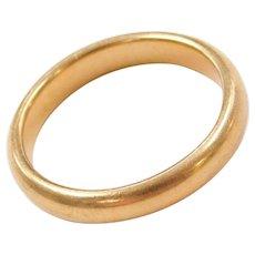14k Gold Ring ~ Wedding Band / Thumb Ring