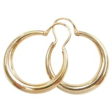 Hoop Earrings 10k Gold