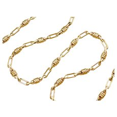 "20"" 14k Gold Men's Link Chain ~ 18.3 Grams"