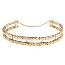 Tennis Bracelet Enhancer / Guard 14k Gold