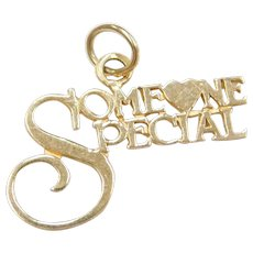 14k Gold Someone Special Charm / Pendant