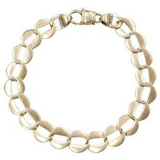 """6 3/4"""" 14k Gold Link Bracelet"""