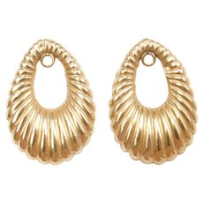 14k Gold Earring Jackets