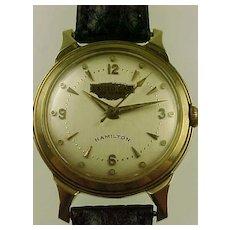 Vintage Hamilton 736 14k Gold Wrist Watch