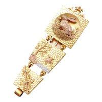 Aesthetic Victorian 14K Gold Chatelaine Belt Clip AMAZING!