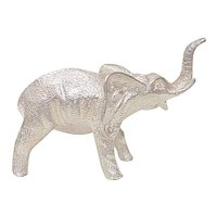Sterling Silver ELEPHANT Figure ~ 170.3 Grams