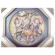 ANRI / Ferrandiz Ltd Ed Spring Dance c. 1980 #433/2500