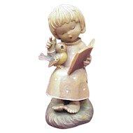 ANRI / Ferrandiz CHORAEL 6 Inch Carved Wood Figure