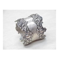 Art Nouveau Napkin Ring Sterling Silver
