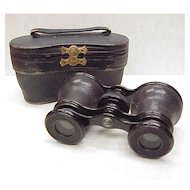 Antique Opera Glasses in Original Case Lemaire Fabt Paris