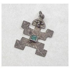 Vintage Charm ~ Pre Columbian Inca With Genuine Emerald