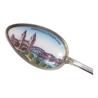 Hohenzollern Bridge, Cologne Germany Hand Painted Spoon