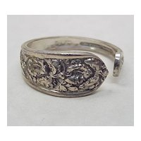 Sterling Silver Napkin Ring By Stieff